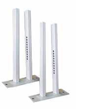 Подова стойка за алуминиев радиатор