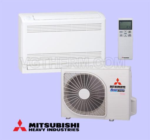 Инверторен климатик Mitsubishi подово тяло